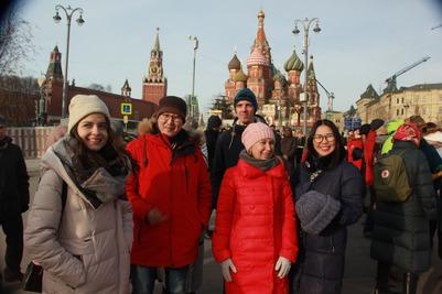 Журналисты познакомились с многонациональной столицей и узнали, как заработать на родном языке