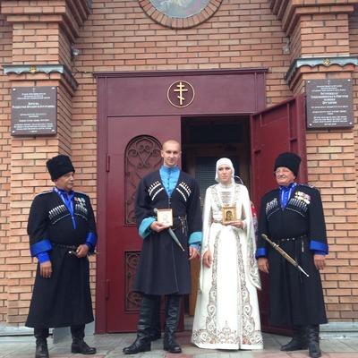 Украинские беженцы сыграли свадьбу по осетинской традиции