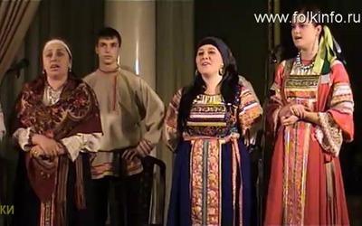 """Духовный стих в исполнении фольклорного ансамбля """"Заряница"""""""