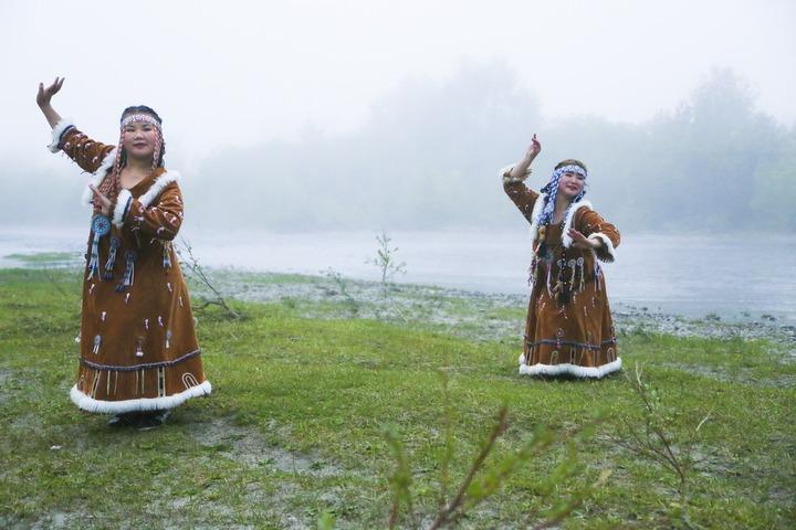 Дети Камчатки исполняют в самоизоляции танцы коренных народов Севера