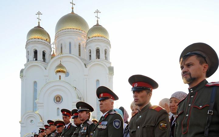 Казаки будут следить во всех московских храмах за порядком и соблюдением православных традиций