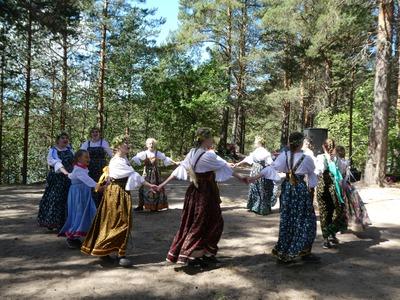 """Праздник ингерманландских финнов """"Юханнус"""" отметили в Карелии"""
