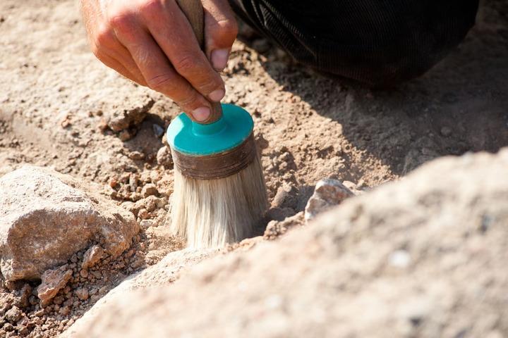 Необычный скелет женщины с деформацией шеи и черепа нашли археологи в Ингушетии