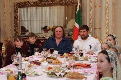 Депардье научился танцевать лезгинку и собирается снять фильм о Чечне
