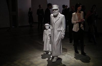 Путин посетил Еврейский музей в день годовщины освобождения узников Освенцима