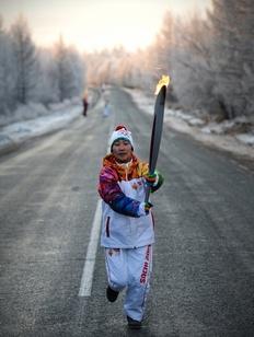 Олимпийский огонь получил благословение в Иволгинском дацане