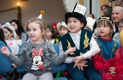 Межнациональный новогодний праздник прошел в Татарском центре Москвы