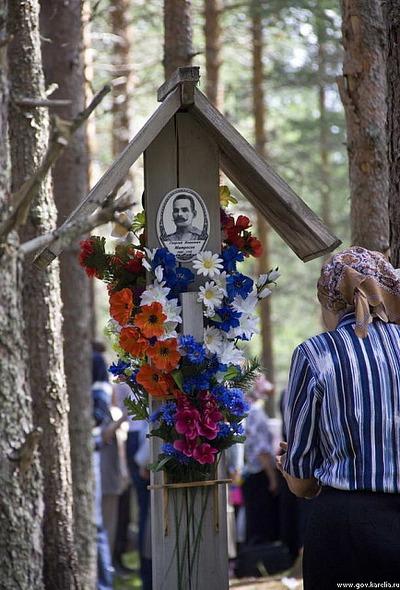 В Карелии почтили память жертв сталинского террора 58 национальностей
