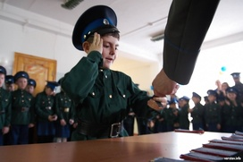 В Краснодарском крае выделят 215 млн рублей на содержание кадетских казачьих корпусов