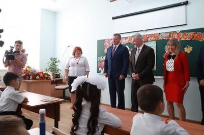 Первая в России туркменская школа открылась в Астраханской области