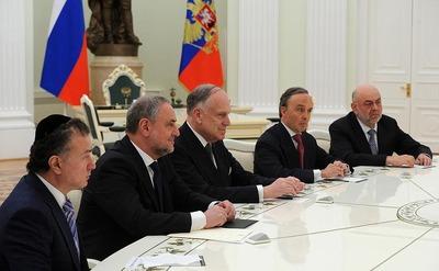 Путин отметил вклад российских евреев во внутриполитическую стабилизацию России