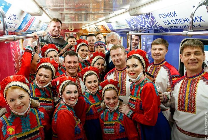 В московском метро начнет ходить коми поезд