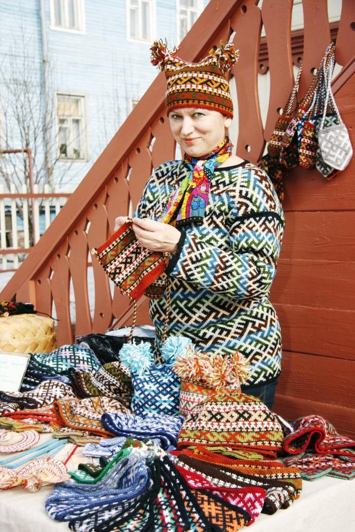 Мастера народных ремёсел собрались под Архангельском