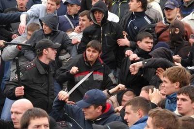 На юге Москвы подрались чеченцы, русские и азербайджанцы