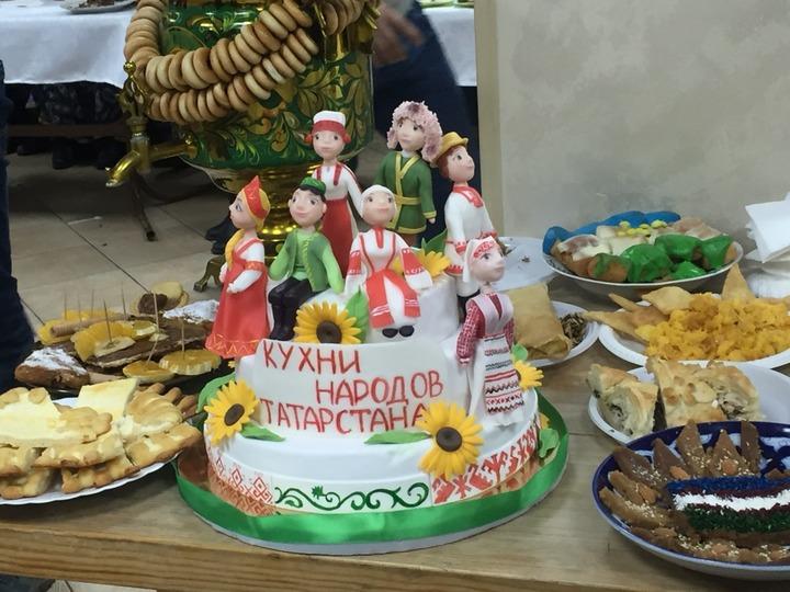 "Конкурс-фестиваль ""Кухни народов Татарстана"""