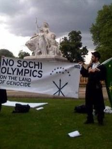 Черкесы из-за рубежа приехали на открытие Олимпиады в Сочи