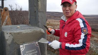 На Таймыре частично реконструировали памятники старинного русского-долгано-ненецкого поселения