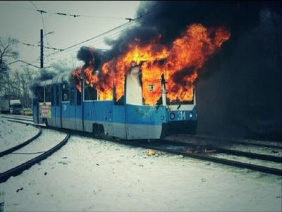 Дагестанские спортсмены спасли в Хабаровске пассажиров из горящего трамвая