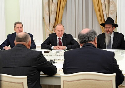 Путин позвал напуганных европейских евреев в Россию
