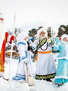 Три Деда Мороза приедут в Бурятию на празднование Сагаалгана
