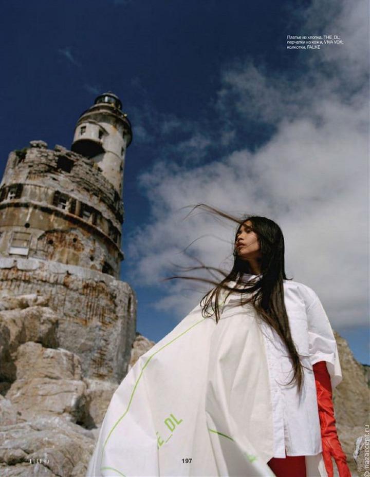 Девушка из малочисленного народа нивхов появилась на обложке ELLE