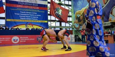 Татарский боец стал абсолютным чемпионом Фестиваля традиционных видов борьбы народов России