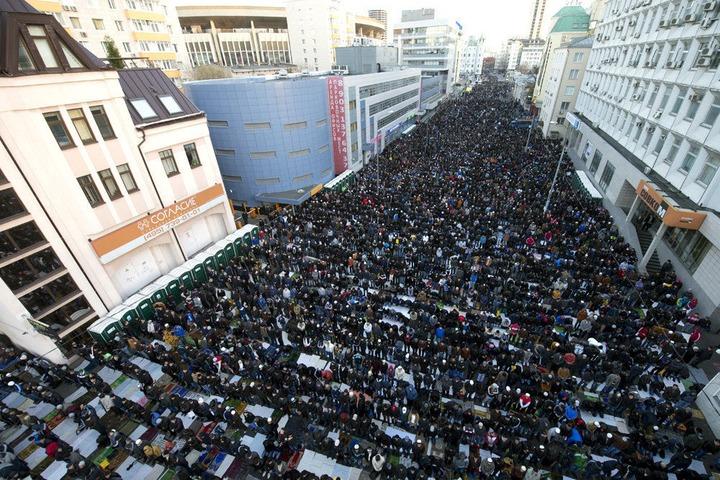Курбан-Байрам в Москве отметили 226 тысяч человек