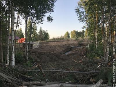 Жители вепсской деревни выступили против строительства на берегу озера