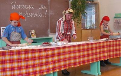 Кировских школьников знакомят с удмуртской кухней