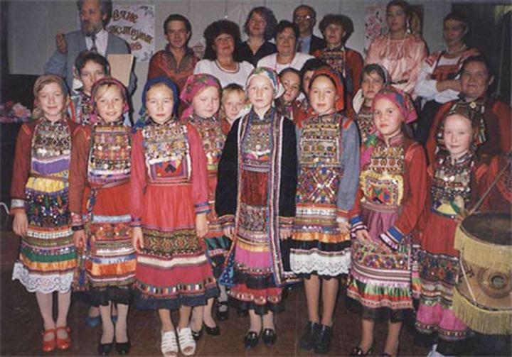 Молодежный фестиваль национальных культур проходит в Йошкар-Оле
