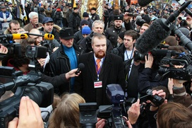 Демушкин: Обвинение выдвинуто, чтобы помешать мне баллотироваться в президенты страны