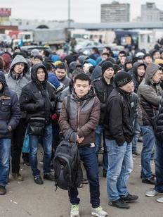 Приток мигрантов в Россию сократился на 19% за год