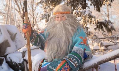 Ямальский Дед Мороз Ямал Ири завел страницу в Instagram