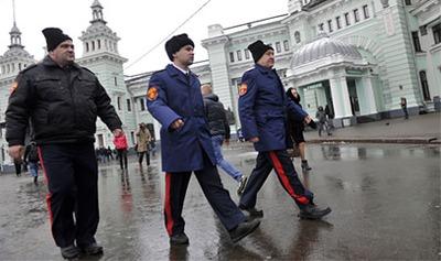 """Казаки помогли предотвратить межнациональную драку в """"Кузьминках"""""""