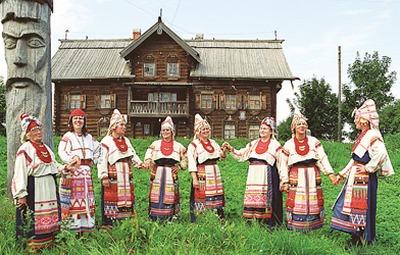 В Ленинградской области создадут этнодеревню води и ижор