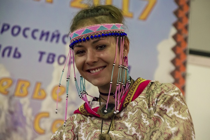 """Открытие выставки-ярмарки """"Сокровища Севера-2017"""" в Москве"""