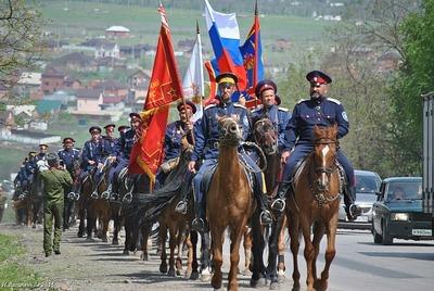 Крымские казаки совершат конный переход по местам воинской славы