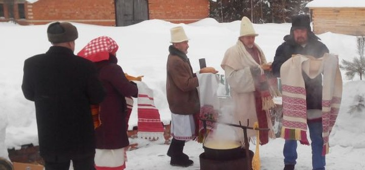 Традиционный обряд обновления воды провели в Удмуртии