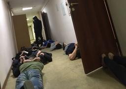В московском общежитии прошли массовые задержания студентов с Северного Кавказа