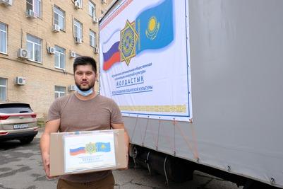 Астраханцы направили в Казахстан медикаменты для борьбы с коронавирусом