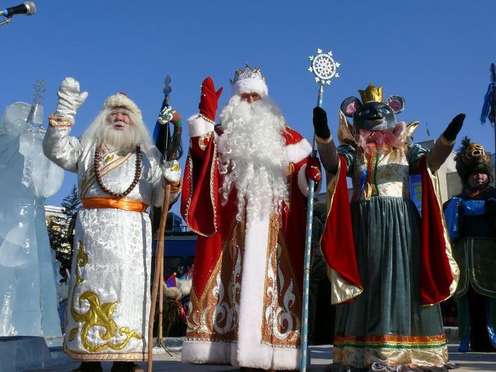 На Сагаалган в Бурятию приедут Кыш Бабай, Дед Мороз и корейский Санта-Клаус