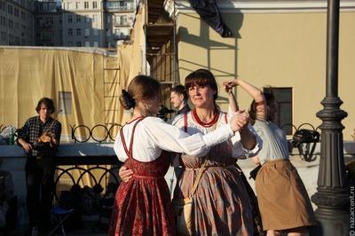 Мастерскую русского танца проведут в Москве