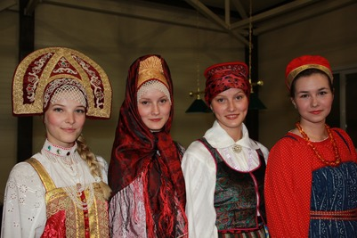 Народный костюм русских Сибири