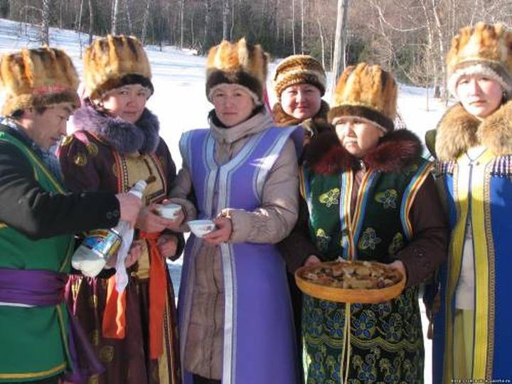 В Республике Алтай встретили Новый год