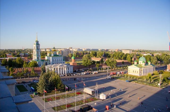 Путин назвал Тульский кремль подлинным шедевром русского зодчества