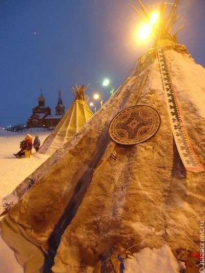Площадь с этническими арт-объектами появилась в Дудинке