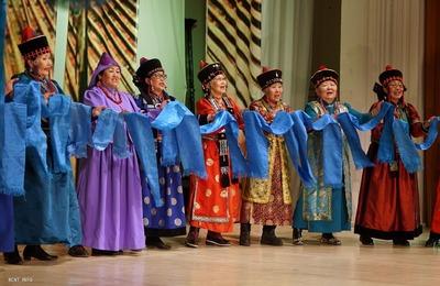 Концерт старинных бурятских песен в Улан-Удэ