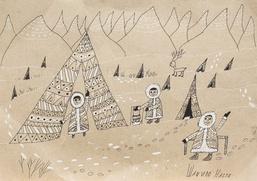 Рисунки детей северных народов начала XX века покажут в Москве