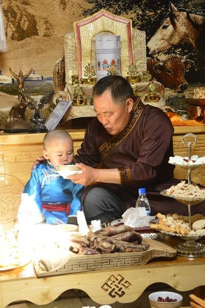 В Туве провели церемонию интронизации нового Верховного ламы