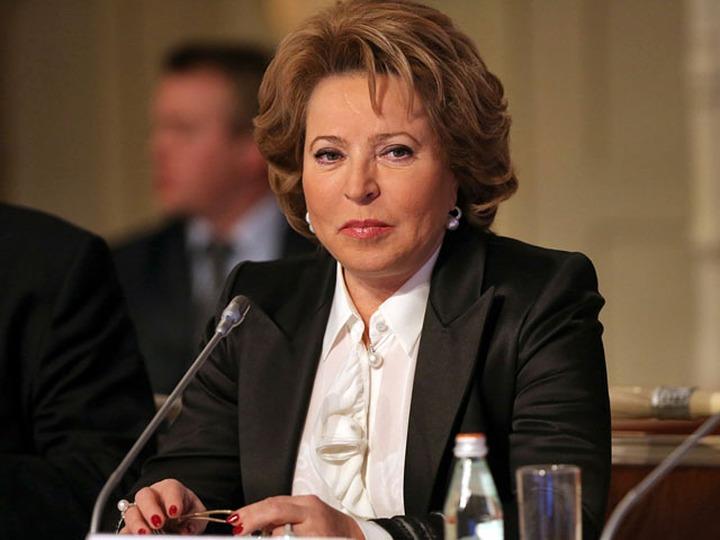 Матвиенко пояснила свои слова об укрупнении российских регионов